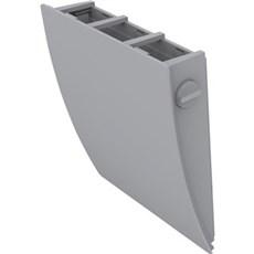 Duka Ventilator - Udvendig skærm, grå