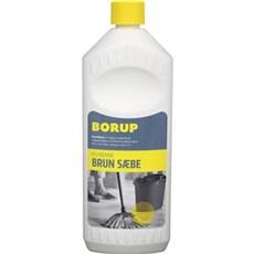 Borup Brun s�be - Flydende 1ltr