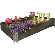 Garden Life Højbed - Sort bejdset 80x120cm