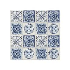 Rasch Tapet - Fliser med Ornamenter Blå
