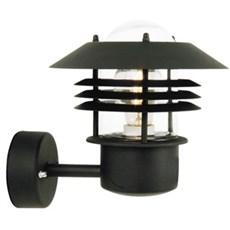 Nordlux Væglampe - E27 vejers sort