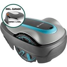 Gardena Robotplæneklipper - Sileno City 500 + Garage