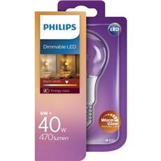 Philips LED - LED 40W A60 E27 WW CL WGD 1BC/4