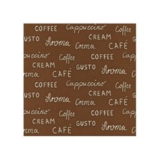 Rasch Tapet - Kaffe Tekst Brun Bund