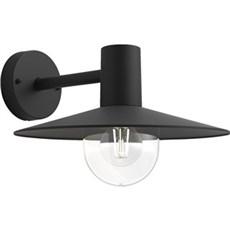 Philips Væglampe - myGarden Sort 1x42W