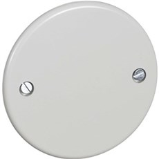 LK® Rosetmateriel Blænddæksel - Blænddæksel type VNP  Ø80mm  Lysegrå