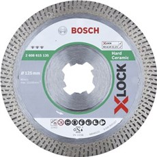 Bosch Diamantskæreskive - DIAMANTSKIVE X-LOCK HÅRD CERAMIC 125XMM