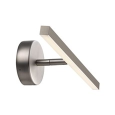 Nordlux Væglampe - LED 40cm badeværelseslampe-Børstet stål