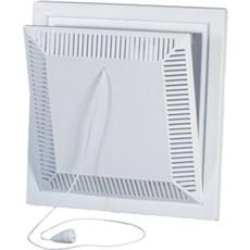 Duka Klapventil - 15x15cm hvid