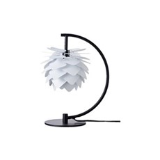 DybergLarsen Bordlampe - Round Square XS Bordlampe m/ sort base