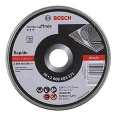 Bosch Skæreskive - 10 pak - INOX 125 mm