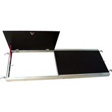 Jumbo Stillads tilbehør - Dæk m/lem 250x60 cm 60x250cm