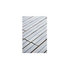XL-BYG Varmefordelingsplade - 1800x115x0,5mm m/1 spor