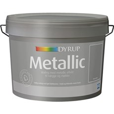 Dyrup Vægmaling - DYRUP METALLIC SILVER METAL