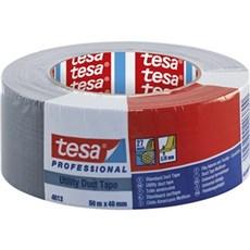 Tesa® Lærredstape - Lærredstape standard 10Mx48MM Grå