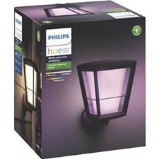 Philips Væglampe - ECONIC HUE WACA EU UP WALL LANTERN SORT