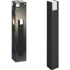Philips Bedlampe - Fuzo Hue White EU post black 1xNW 230V SORT