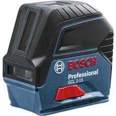 Bosch Krydslaser - LINJE-PUNKTLASER GCL 2-15 M/BM 3-BOX