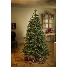 NORDIC WINTER Dekorativ jul - Kunstig juletræ med lys 106 x 150 cm