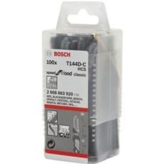 Bosch Stiksavklinge - T144D - 100 pak