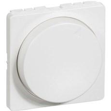 LK FUGA® Baldakin - Afdækning for drejelysdæmper MEK-D 300CR 1 modul Hvid