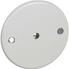 LK FUGA® Stikkontakt - Dæksel Ledningshul Ø7,0 - 8,3mm Lysegrå
