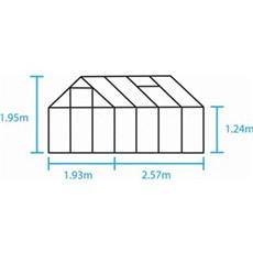 Halls Drivhus - Popular 86. 5,0 m2