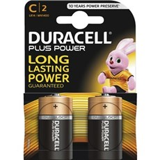 Duracell AAA batterier - Plus Power C 2pk