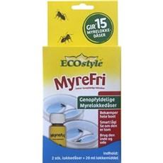 ECOstyle Myremiddel - lokkedåse genopfyldelig