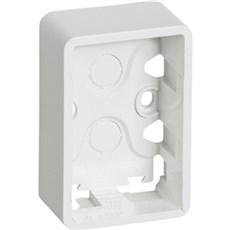 LK FUGA® Stikkontakt - BASELINE underlag 1 1/2 modul Hvid
