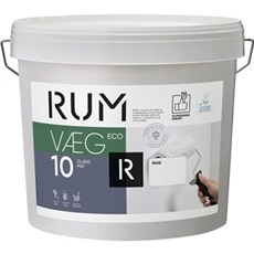 RUM Vægmaling - VÆG 10 ECO HVID 5 LTR