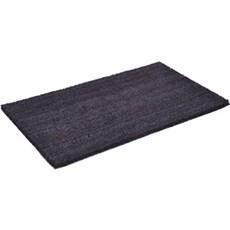 Clean carpet Dørmåtte - 50X80CM Sort kokos