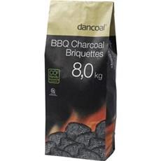 Dancoal Grill tilbehør - GRILLBRIKETTER 8KG