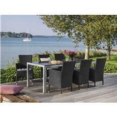 Outrium Havemøbelsæt - Alsace/Toscana 6 stole