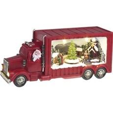 VELI LINE Dekorativ jul - Julemands Truck 12cm