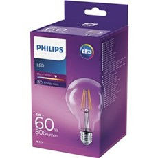 Philips LED - LEDClassic 60W G93 E27 WW G93 CL ND