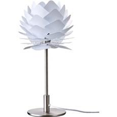 DybergLarsen Bordlampe - Round Square XS, Hvid, 18x37 cm