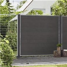 Plus Hegn nem vedligehold - Cubic Rammehegn Stålespalier 90x180 cm