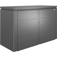 Biohort Udendørs opbevaring - HIGHBOARD STR. 200 Mørkegrå Metallic