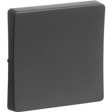 LK FUGA® Afbryder - 1 modul, koksgrå ny type, 2 stk.