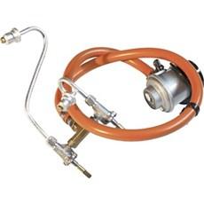 Weber® Grill tilbehør - Regulator, slange og manifold til Weber Q300 og Q320. Komplet sæt